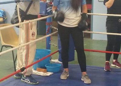 Chinois & sa boxeuse