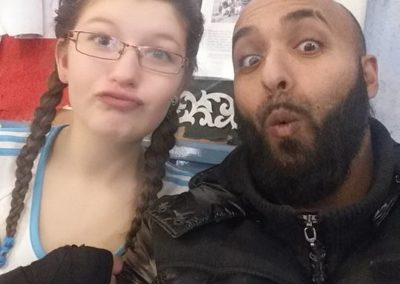 Fouad & sa boxeuse