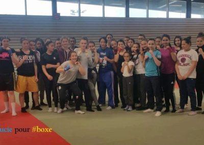 Toutes les boxeuses à Montbéliard
