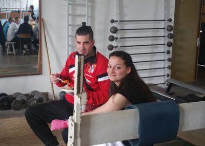 Lucie & son entraîneur