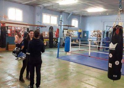 Salle de boxe de Chalon