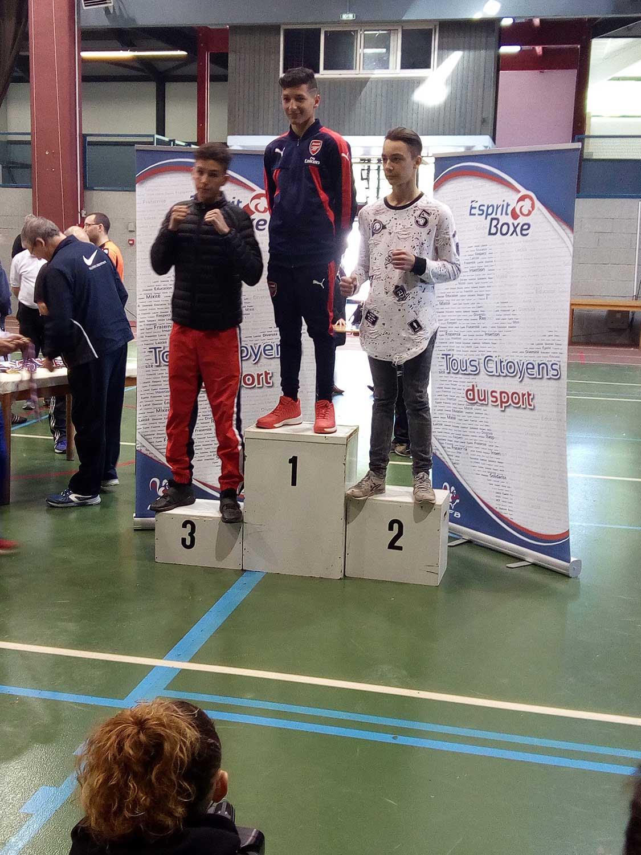 Léo médaille bronze
